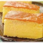 Orange Cotton Cheese Cake recipe